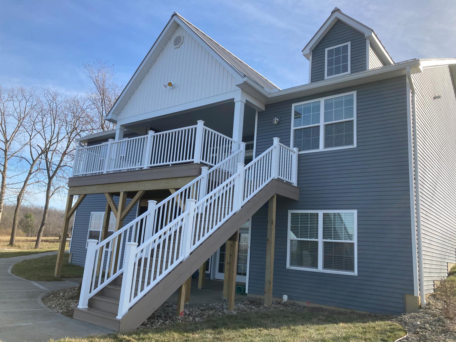 Cottage Rear Deck